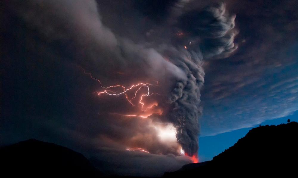 Vulkanutbrott av känslor