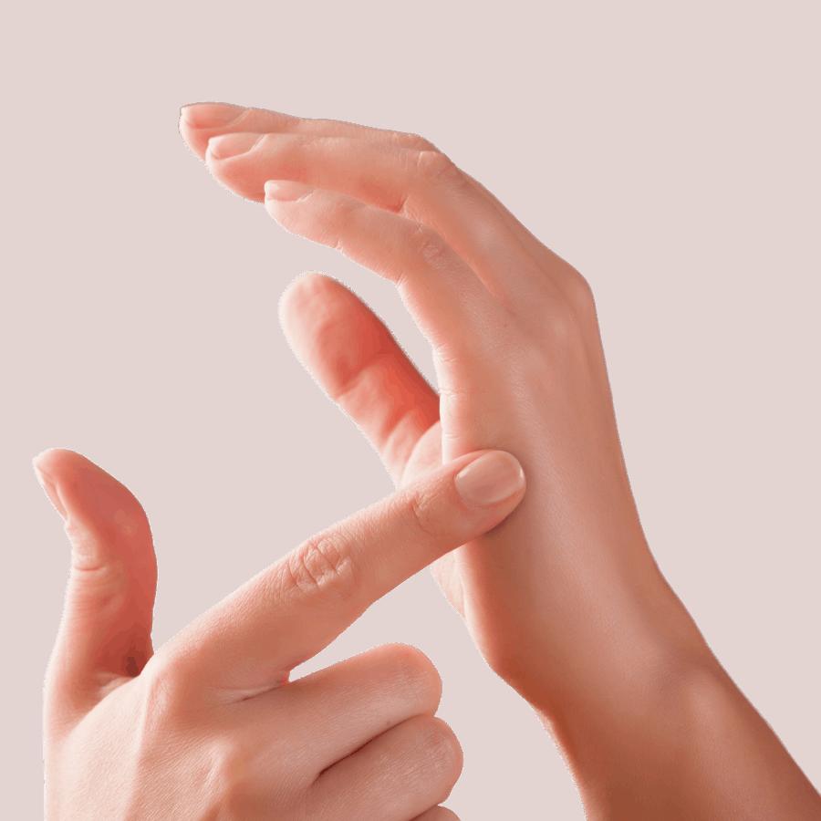 Tapping händer